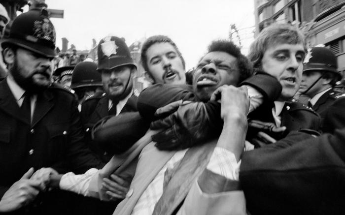 Race riots in Lewisham