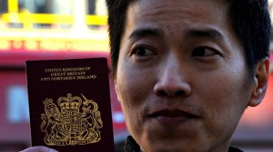 "Hendy's UK passport is 99 percent like mine. Only his says ""British Overseas Citizen"" and mine says ""British Citizen."" He was entitled to such a passport and he applied for it when he came to the UK from Malaysia. He was told it would enable him to live and work here. As it turns out this is a very peculiar passport. Now that he has it, Hendy has no rights at all to live or work in the UK. He is effectively stateless. He is a trained accountant but has to work illegally in a restaurant to make ends meet. There are hundreds like him. I took this photo as part of a documentary I have filmed about British Overseas Citizens."
