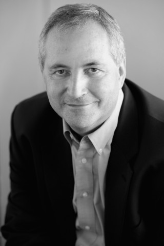 Black & white photograph of Daniel Franklin