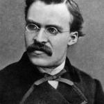 Photograph portrait of Nietzsche.