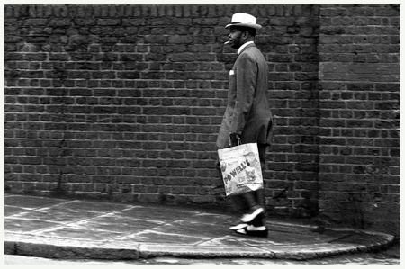 Man in a Zoot Suit, Great Western Road, 1968