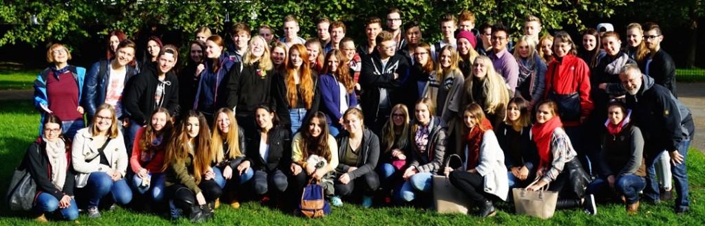 German School Velbert students at LSE